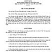 Quyết định số 906/QD-TTg của Thủ tướng Chính phủ phê duyệt định hướng quy hoạch phát triển điện hạt nhân ở Việt Nam giai đoạn đến năm 2030