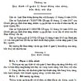 Thông tư số 25/2010/TT-BGTVT quy định về quản lý hoạt động của cảng, bến thủy nội địa