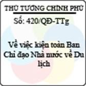 Quyết định 420/QĐ-TTg