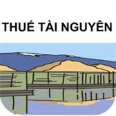 Thông tư 152/2015/TT-BTC hướng dẫn về thuế tài nguyên