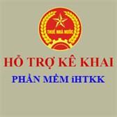 Khai thuế qua mạng iHTKK 3.8.1