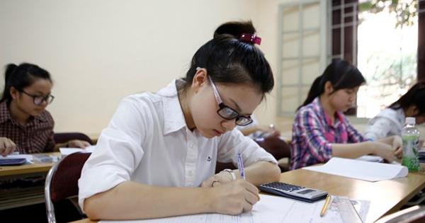 Hướng dẫn thực hiện Quy chế thi THPT quốc gia