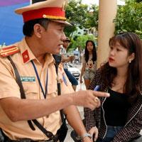 Các lỗi vi phạm giao thông có thể nộp phạt tại chỗ và mức phạt cụ thể 2021