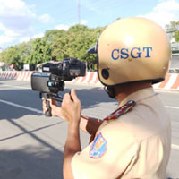 Quy trình bí mật bắn tốc độ của cảnh sát giao thông
