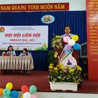 Bài phát biểu của Hiệu trưởng trong đại hội liên đội