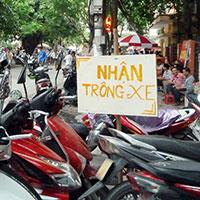 Phí dịch vụ trông giữ xe ở Thành phố Hà Nội mới nhất