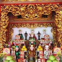 Văn khấn Mẫu ở chùa