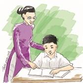 Mẫu giấy thi Viết về những kỷ niệm sâu sắc về thầy cô và mái trường mến yêu
