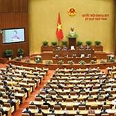 Thông cáo kỳ họp quốc hội lần thứ 8 khóa XIV