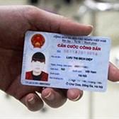 Thủ tục hành chính lĩnh vực cấp quản lý thẻ Căn cước công dân
