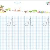 File luyện viết chữ in hoa cho bé