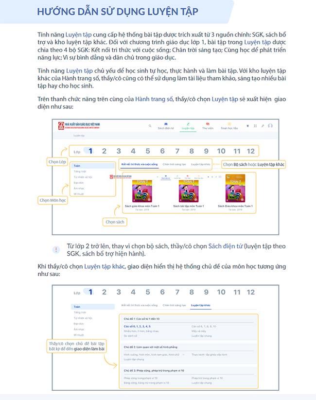 Hướng dẫn sử dụng hành trang số