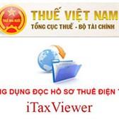 Itaxviewer - Phần mềm đọc file xml