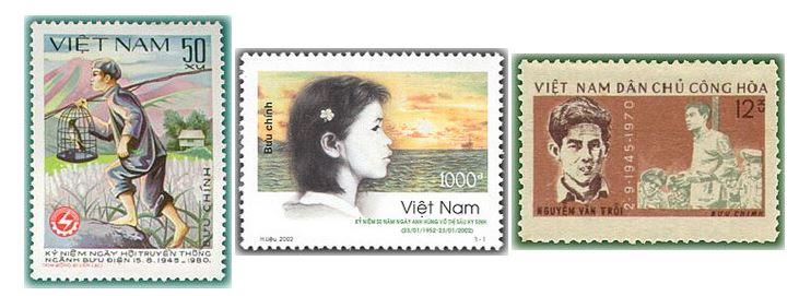 Câu hỏi tem bưu chính 2021
