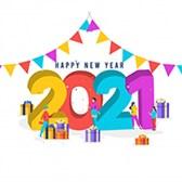 Hình chúc tết 2021 Tân Sửu