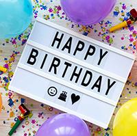 Chúc mừng sinh nhật tiếng Anh hay nhất