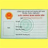 Thủ tục cấp giấy chứng minh nhân dân