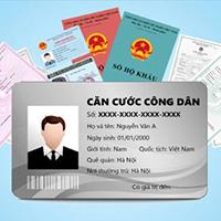 Thủ tục cấp lại chứng minh nhân dân - Thẻ căn cước công dân