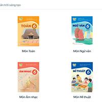 Hướng dẫn xem các bộ sách giáo khoa lớp 6 mới