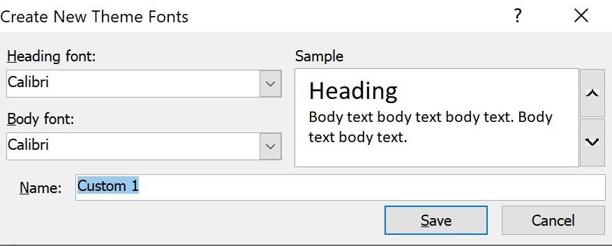 Cách đổi phông chữ trên powerpoint