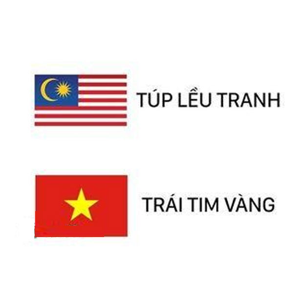 Ảnh chế Việt Nam - Malaysia 2021