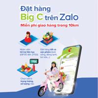 Cách mua hàng Big C online