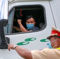 Đăng ký luồng xanh cho xe vào Hà Nội