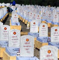 Văn khấn tại nghĩa trang liệt sỹ