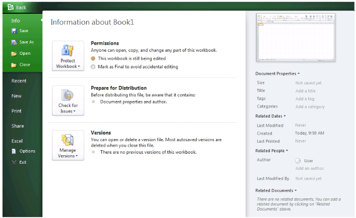 Tài liệu tự học Microsoft Excel