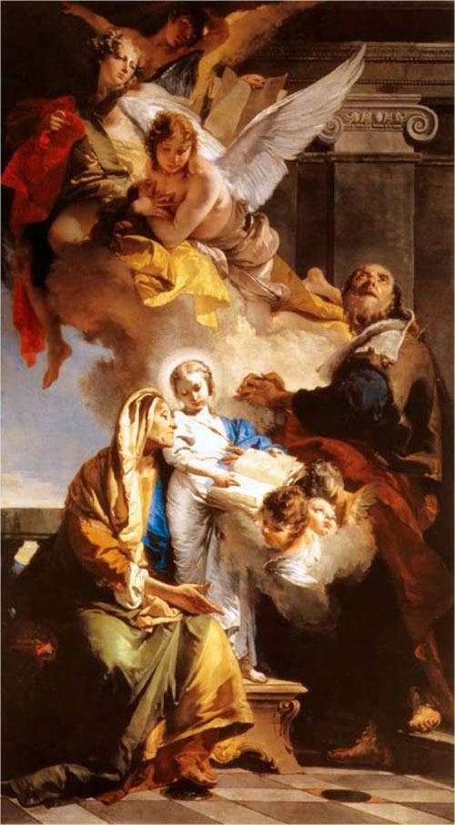 Thân phụ Đức Mẹ Maria tên là gì?