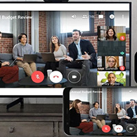 Cách học online Google Meet trên Tivi