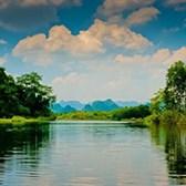 Viết đoạn văn miêu tả cảnh sông nước siêu hay